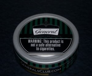 My can of General Wintergreen