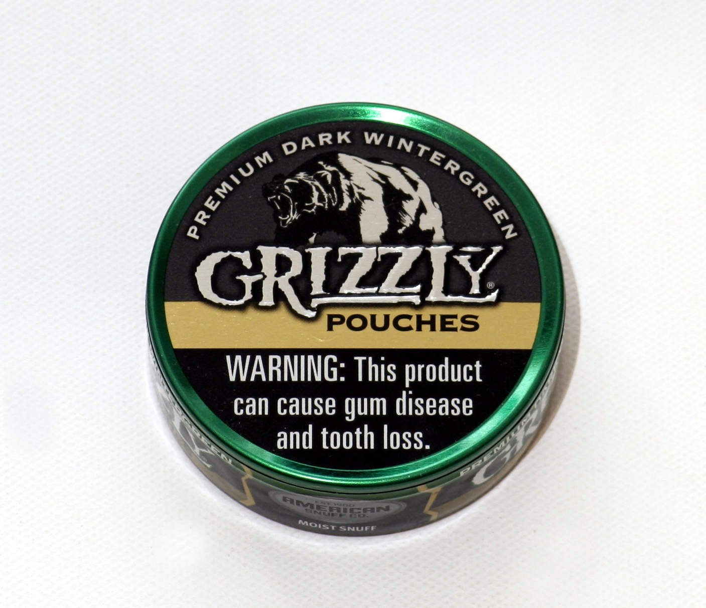 Grizzly Dark Wintergreen Pouches Review The Northerner Blog