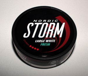 Nordic Storm Large White Fresh Snus
