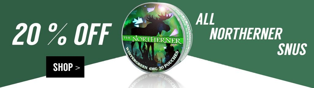 Northerner Snus Sale Spring 2018