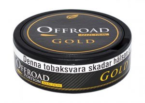 Offroad Gold Selection Snus